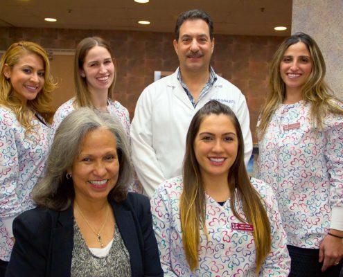 Dental Team-Cropped-Daniel N. Galaif, D.D.S.-Encino Dentist